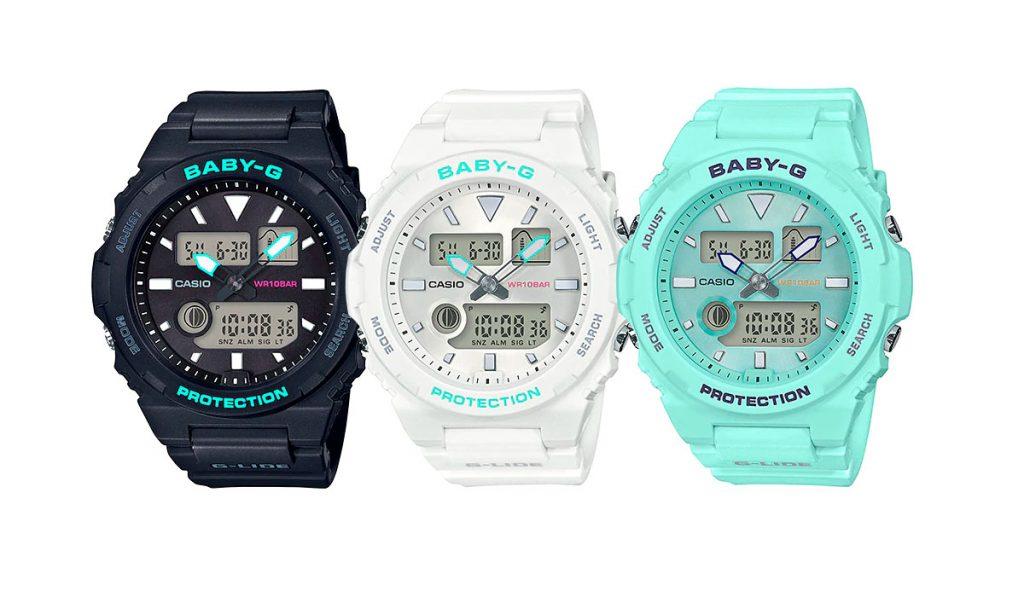 BAX 100 1024x597 - Top 5 đồng hồ Casio Baby G Ana-Digi kết hợp đồng hồ điện tử và kim