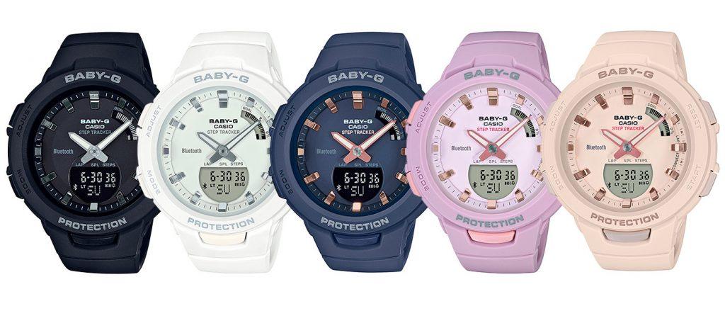 BSA B100 1024x439 - Top 5 đồng hồ Casio Baby G Ana-Digi kết hợp đồng hồ điện tử và kim