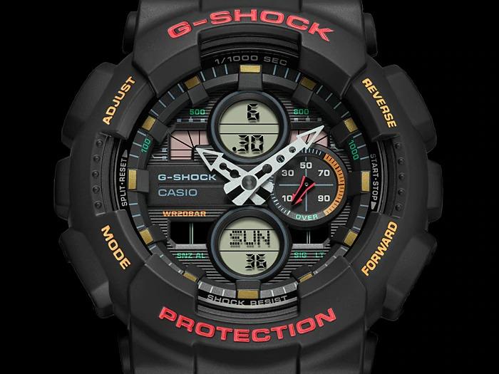 Casio G Shock GA 140 1A4 1 - Top 10 đồng hồ G-Shock giá rẻ nhất 2020