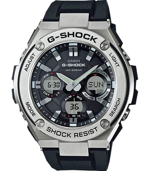 GST S110 1A 0 600x682 - GST-S110-1A   G-STEEL   G-SHOCK   Đồng hồ   CASIO