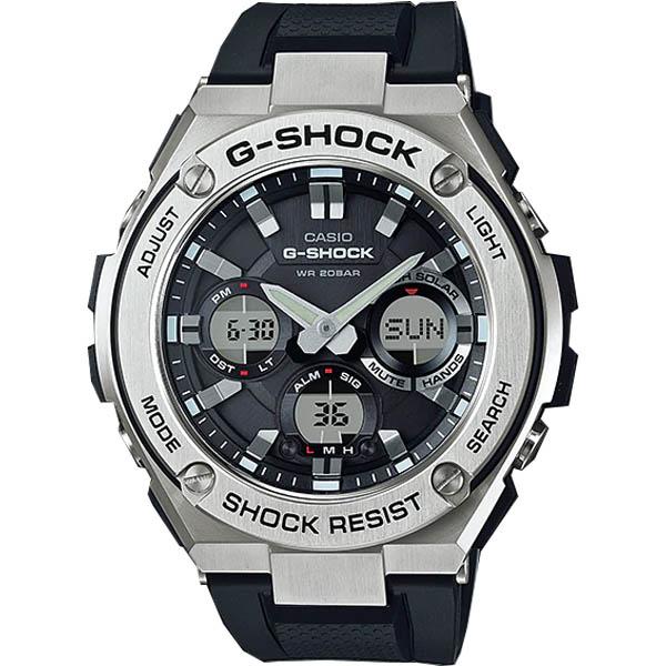 GST S110 1A 0000 - GST-S110-1A|G-STEEL|G-SHOCK|Đồng hồ|CASIO
