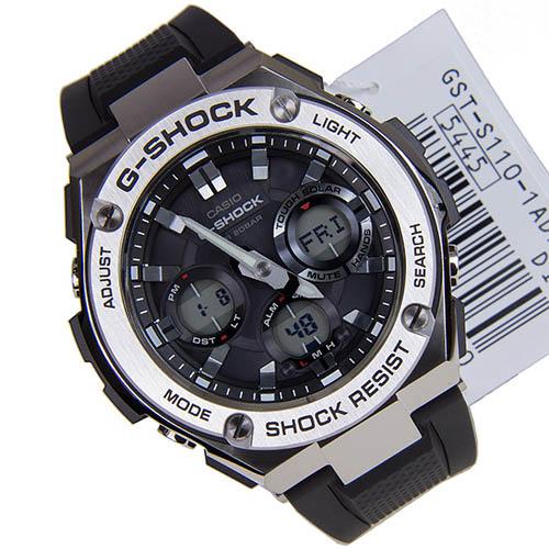 GST S110 1ADR - GST-S110-1A   G-STEEL   G-SHOCK   Đồng hồ   CASIO