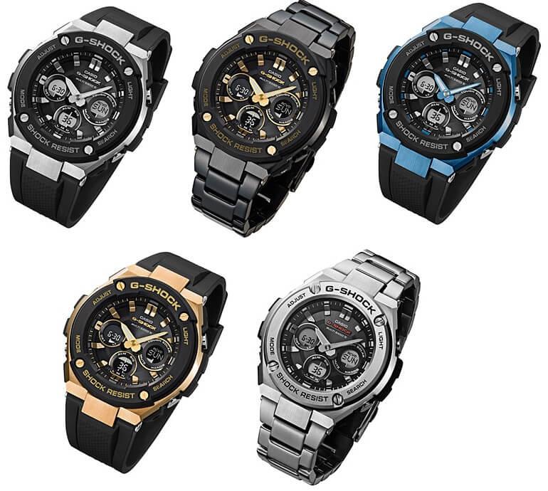 g shock g steel gst w300 gst s310 - GST-S110-1A   G-STEEL   G-SHOCK   Đồng hồ   CASIO