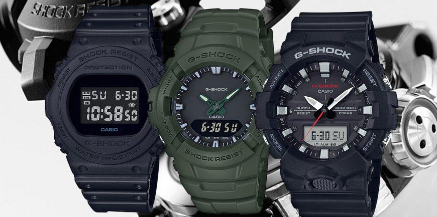 Top 10 đồng hồ G-Shock giá rẻ nhất 2020