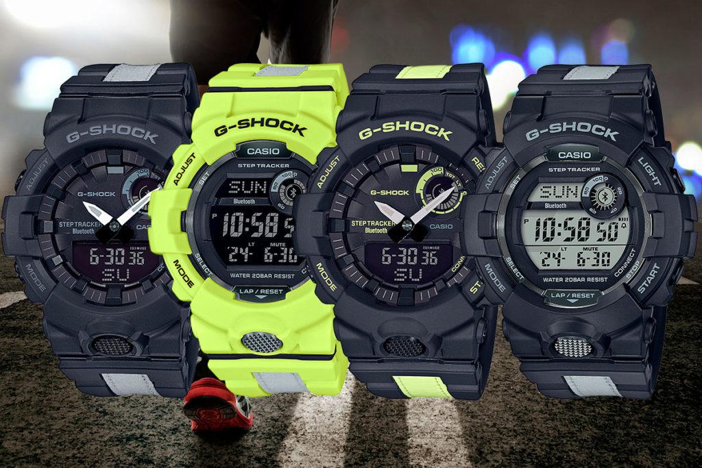 gba 800lu gbd 800lu night running 1024x683 1 - Top 10 đồng hồ G-Shock giá rẻ nhất 2020