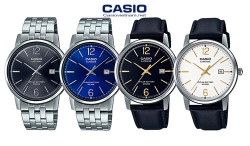 [Đồng hồ Casio 2020] MTS-110 – Kính sapphire và pin 10 năm