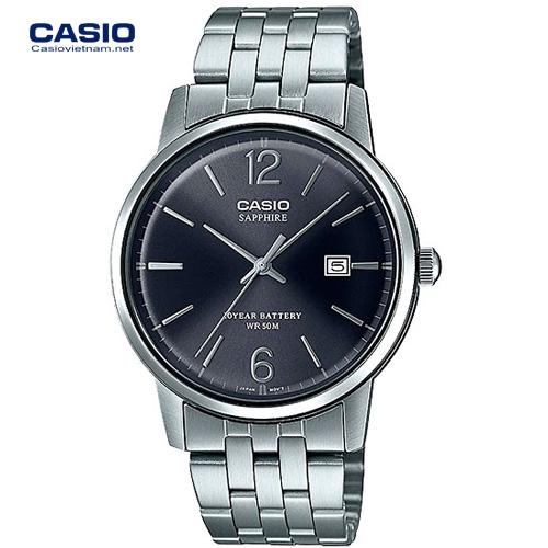 MTS 110D 1AV 01 - [Đồng hồ Casio 2020] MTS-110 - Kính sapphire và pin 10 năm