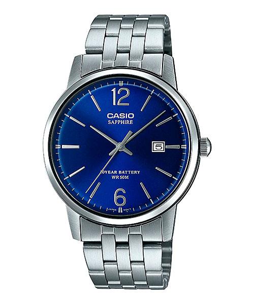MTS 110D 2AV - [Đồng hồ Casio 2020] MTS-110 - Kính sapphire và pin 10 năm