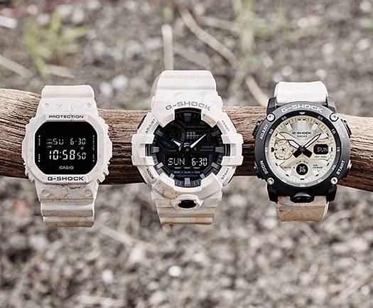 [G-Shock 2020] GA-700WM, GA-2000WM, DW-5600WM cảm hứng màu đất và đá