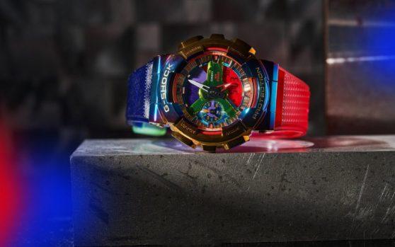 """[G-Shock 2020] GM-110RB-2A – """"cầu vồng"""" và ánh thép"""