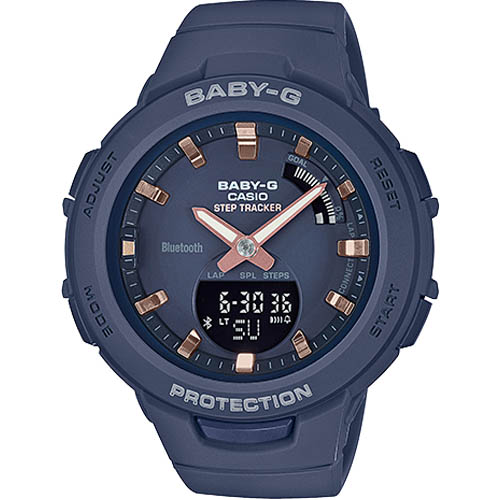 BSA B100 2A 000 - Review Baby-G BSA-B100-2A-mẫu đồng hồ Casio Baby G kết nối Bluetooth đầu tiên