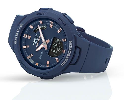 Review Baby-G BSA-B100-2A-mẫu đồng hồ Casio Baby G kết nối Bluetooth đầu tiên