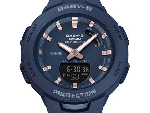 BSA B100 2A 2 - Review Baby-G BSA-B100-2A-mẫu đồng hồ Casio Baby G kết nối Bluetooth đầu tiên