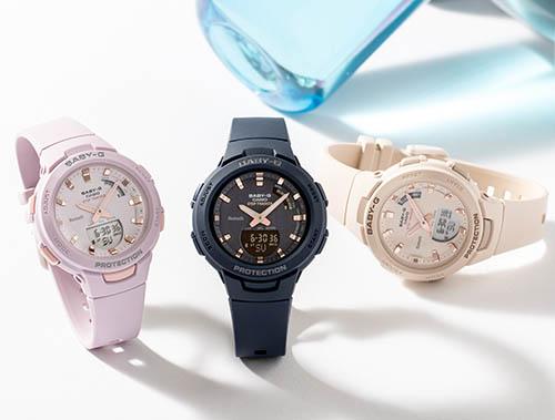 BSA B100 2A 5 - Review Baby-G BSA-B100-2A-mẫu đồng hồ Casio Baby G kết nối Bluetooth đầu tiên