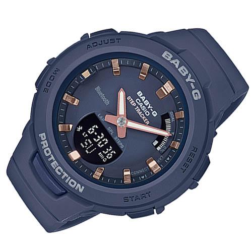 BSA B100 2A 6 - Review Baby-G BSA-B100-2A-mẫu đồng hồ Casio Baby G kết nối Bluetooth đầu tiên