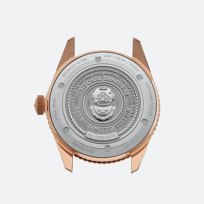 Oris73 Natback - Phiên bản giới hạn đồng hồ Oris Carl Brashear Calibre 401