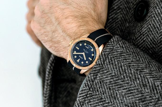 Oris73 Wrist 001 - Phiên bản giới hạn đồng hồ Oris Carl Brashear Calibre 401