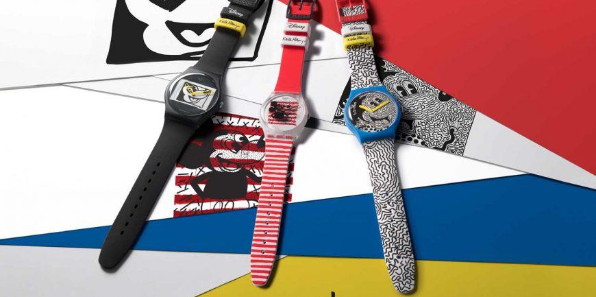 Swatch X Keith Haring – Đồng hồ Mickey siêu ấn tượng
