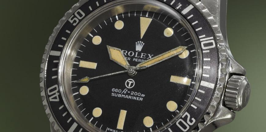 Lịch sử đồng hồ Rolex Submariner là 'MilSub' do Quân đội phát hành