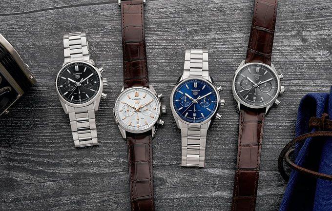 Nhìn sâu hơn về đồng hồ Calibre Heuer 02, cùng với 12 đồng hồ bấm giờ TAG Heuer mới