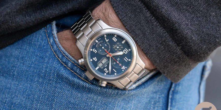 Khám phá đồng hồ Fortis Aeromaster PC-7 đậm chất thể thao
