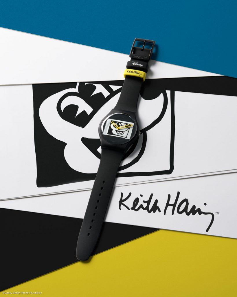 mikey 819x1024 - Swatch X Keith Haring - Đồng hồ Mickey siêu ấn tượng