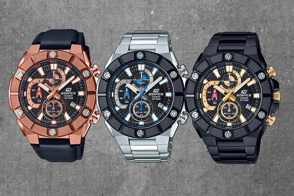 efr 569 - Đánh giá chi tiết về bộ sưu tập đồng hồ Casio Edifice