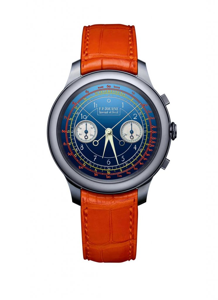 02 FPJourne Only Watch 2017 745x1024 - FP Journe Chronographe Monopoussoir Rattrapante chỉ dành cho đồng hồ đeo tay