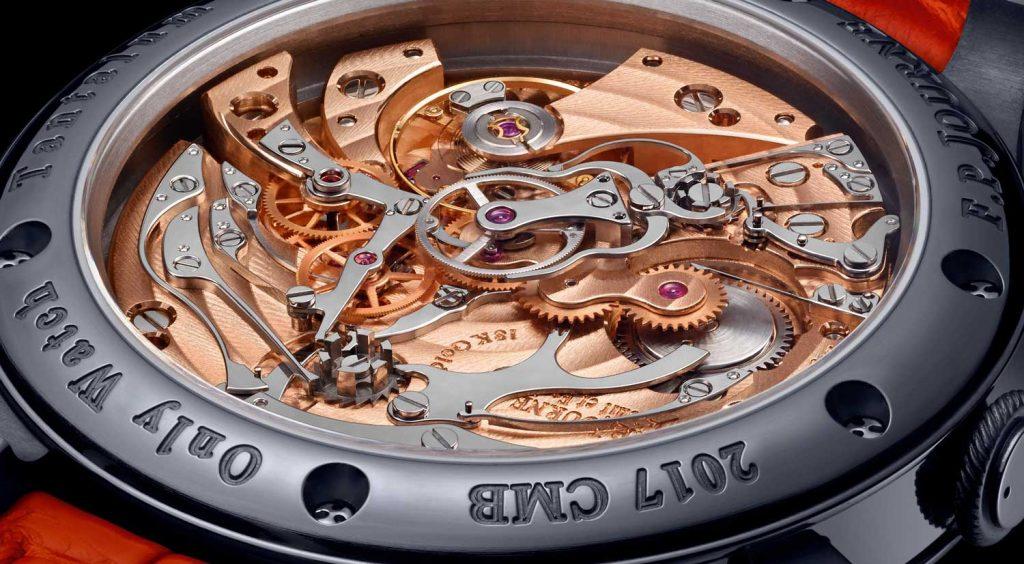 04 FPJourne Only Watch 2017 1024x564 - FP Journe Chronographe Monopoussoir Rattrapante chỉ dành cho đồng hồ đeo tay