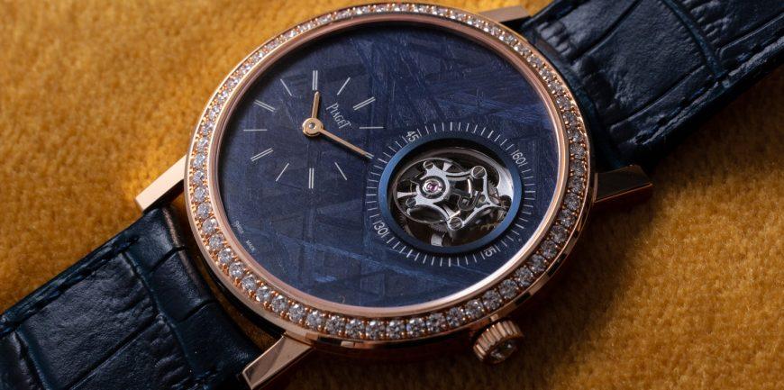 Khám phá hai chiếc đồng hồ Piaget Altiplano Tourbillon được trang trí bằng kim cương