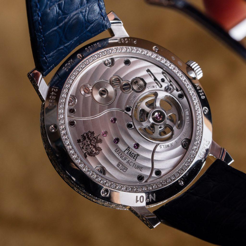 Piaget Altiplano Tourbillon Diamonds watches 24 1024x1024 - Khám phá hai chiếc đồng hồ Piaget Altiplano Tourbillon được trang trí bằng kim cương