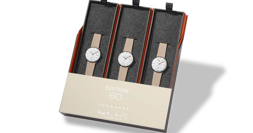 Giới thiệu đồng hồ Junghans Max Bill Edition Set 60 2021 New