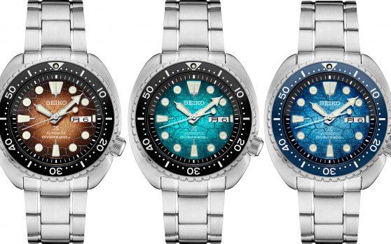 Seiko ra mắt bộ ba đồng hồ lặn phiên bản đặc biệt